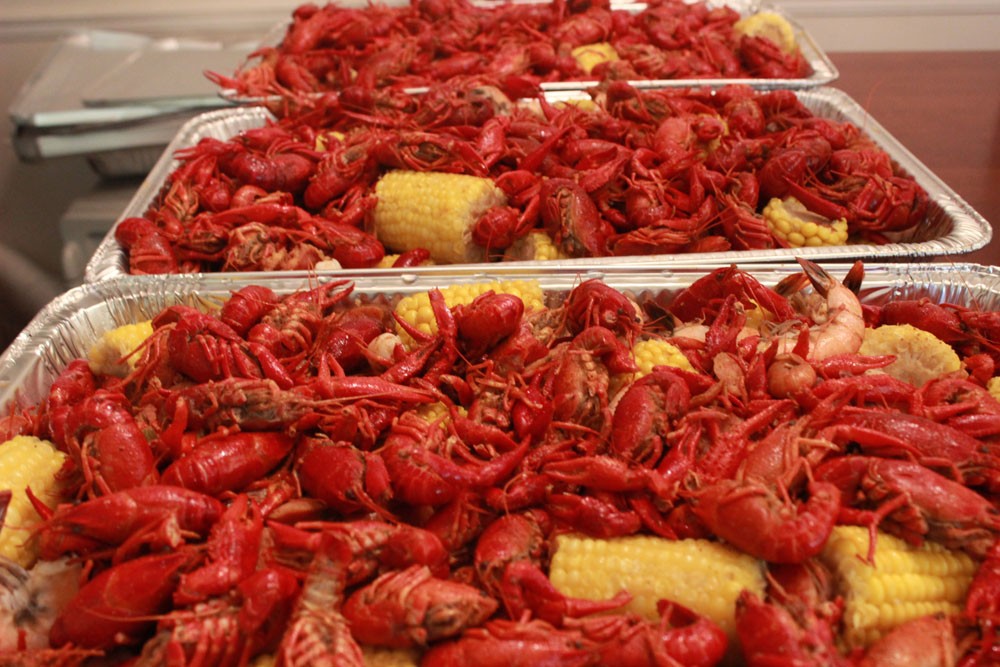 Seafood Boil (Crawfish, Shrimp, Corn, Potatoes, Cajun Sausage)