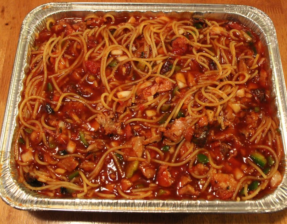 Award Winning BBQ Spaghetti